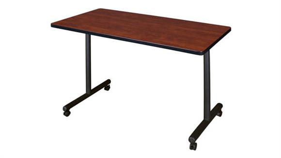 """Training Tables Regency Furniture 42"""" x 24"""" Mobile Training Table"""
