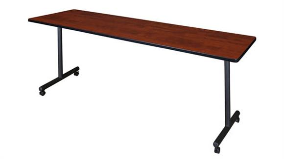 """Training Tables Regency Furniture 84"""" x 24"""" Mobile Training Table"""
