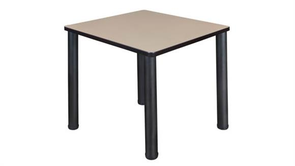 "Cafeteria Tables Regency Furniture 30"" Square Breakroom Table"