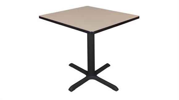 "Cafeteria Tables Regency Furniture 30"" Square Breakroom Table"