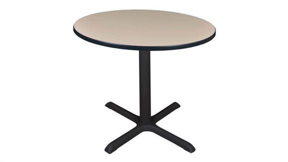 "Cafeteria Tables Regency Furniture 36"" Round Breakroom Table"