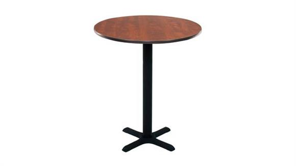 "Pub & Bistro Tables Regency Furniture 30"" Round Cafe Height Table"