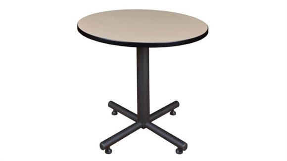 "Cafeteria Tables Regency Furniture 30"" Round Breakroom Table"