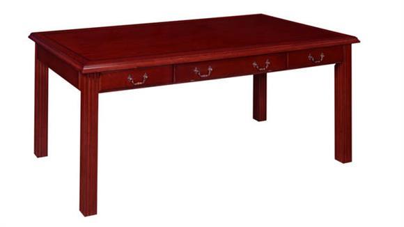 "Writing Desks Regency Furniture 72"" x 36"" Writing Desk"