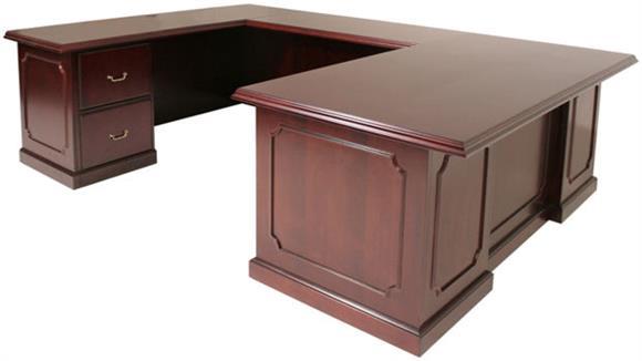 U Shaped Desks Regency Furniture U Shaped Desk