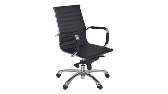 Office Chairs Regency Furniture Solace Swivel Chair- Black