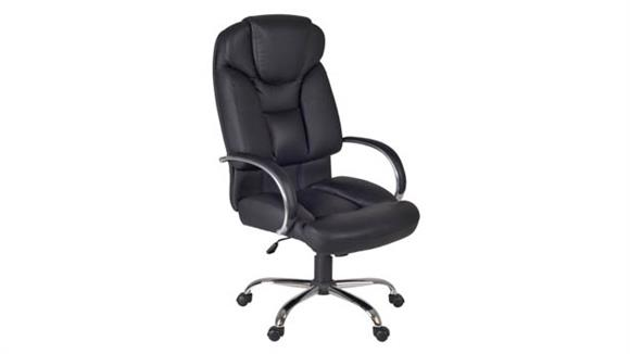 Big & Tall Regency Furniture Goliath Big & Tall Swivel Chair- Black
