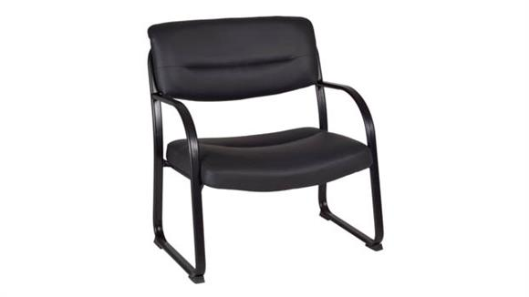 Big & Tall Regency Furniture Crusoe Big & Tall Side Chair- Black