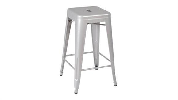 Stacking Chairs Regency Furniture Rivet Stack Stool (4 pack)- Gray