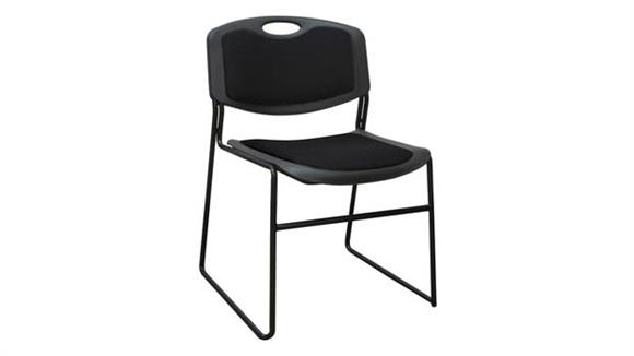 Stacking Chairs Regency Furniture Polypropylene Stack Chair with Padded Seat and Back