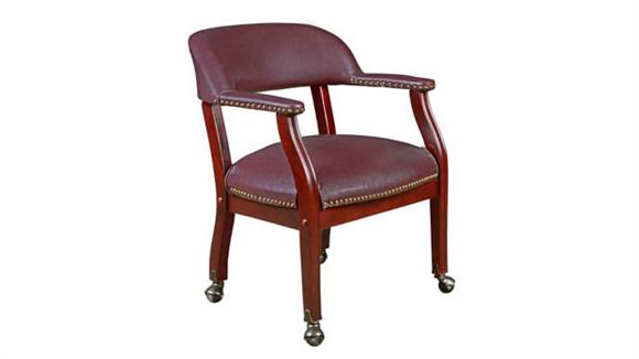 Side & Guest Chairs Regency Furniture Ivy League Captains Chair with Casters