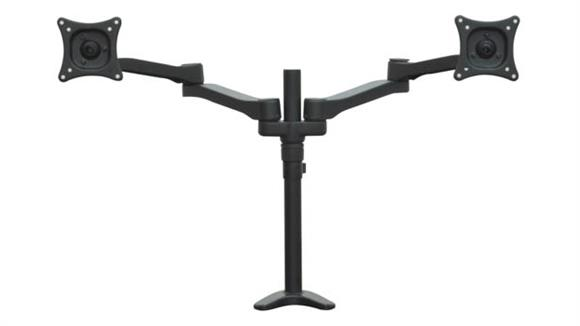 Monitor Stands / Arms Regency Furniture Double Screen Articulating Monitor Mount
