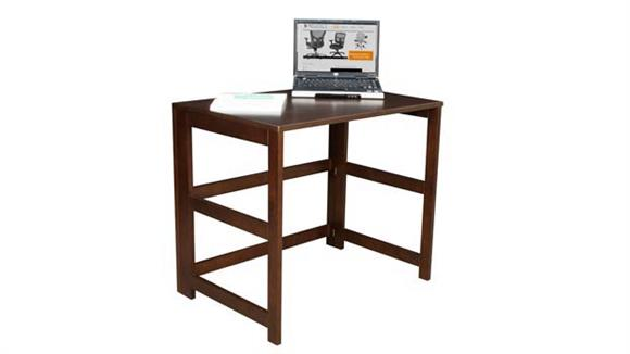 "Compact Desks Regency Furniture 31"" Flip Flop Folding Desk"
