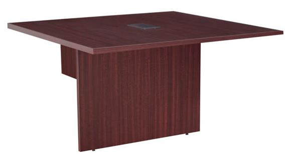 """Conference Tables Regency Furniture 48"""" Modular Conference Table Extension with Power Data Grommet"""