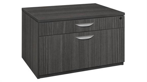 """File Cabinets Lateral Regency Furniture 20""""H Low Box-File Lateral Cabinet"""