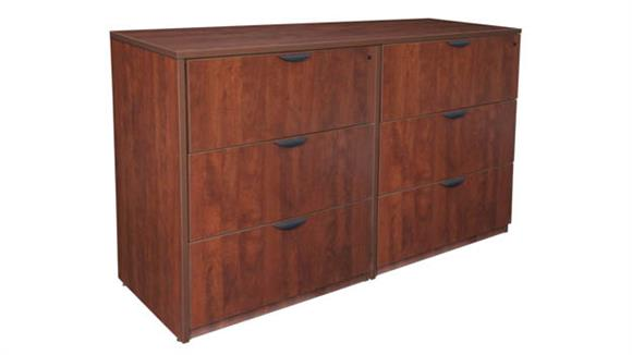 File Cabinets Regency Furniture Stand Up Side to Side Lateral File/ Lateral File
