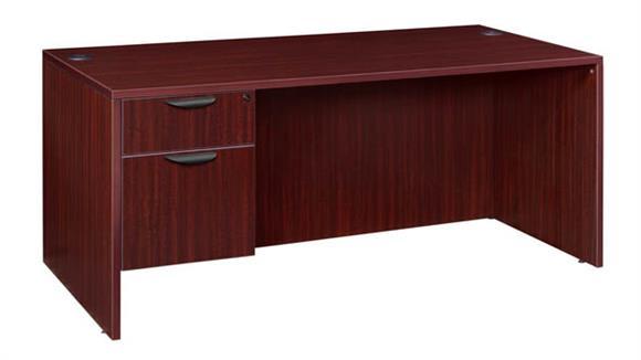 """Computer Desks Regency Furniture 60"""" Single Pedestal Desk"""