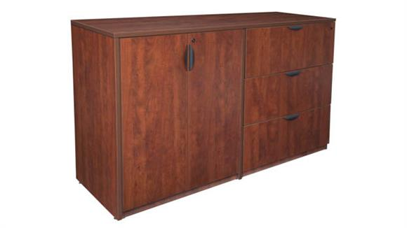 File Cabinets Lateral Regency Furniture Stand Up Side to Side Storage Cabinet/ Lateral File