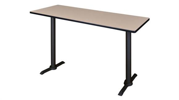 "Training Tables Regency Furniture 66"" x 24"" Café Training Table"