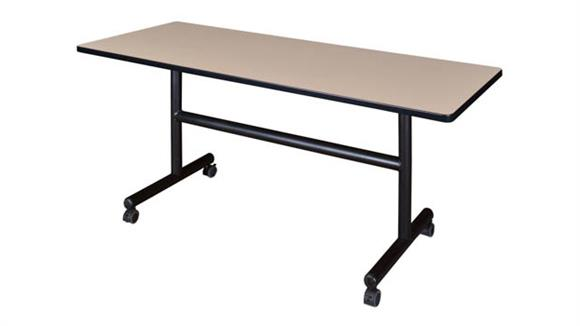 "Training Tables Regency Furniture 60"" Flip Top Mobile Training Table"