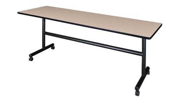 "Training Tables Regency Furniture 84"" Flip Top Mobile Training Table"