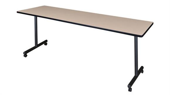 "Training Tables Regency Furniture 84"" x 24"" Mobile Training Table"