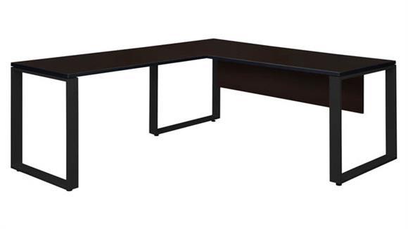 """L Shaped Desks Regency Furniture 66"""" x 30"""" L-Shaped Desk Shell with 42"""" Return"""