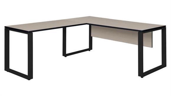 """L Shaped Desks Regency Furniture 66"""" x 30"""" L-Shaped Desk Shell with 48"""" Return"""
