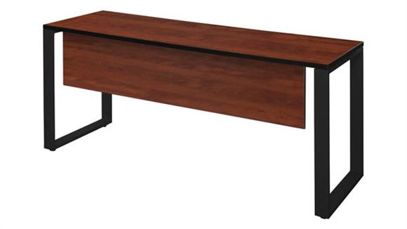 """Training Tables Regency Furniture 60"""" x 24"""" Training Table with Modesty Panel"""