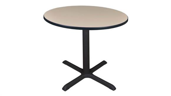 "Cafeteria Tables Regency Furniture 36"" Round Breakroom Table"