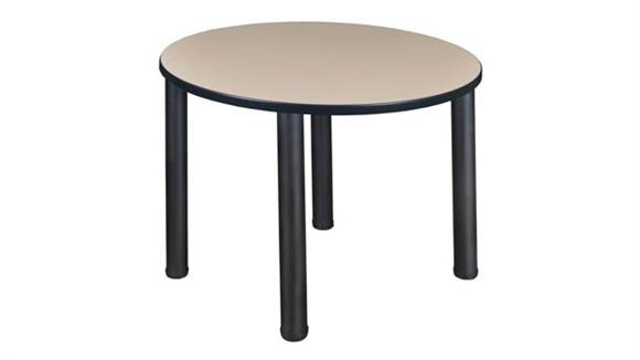 "Cafeteria Tables Regency Furniture 42"" Round Breakroom Table"