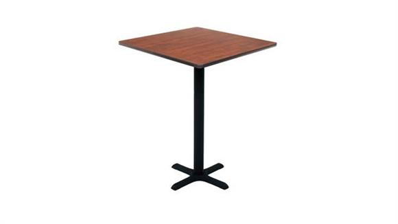 "Pub & Bistro Tables Regency Furniture 30"" Square Cafe Height Table"