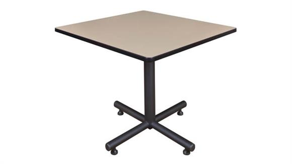 "Cafeteria Tables Regency Furniture 36"" Square Breakroom Table"