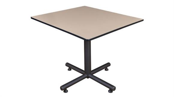 "Cafeteria Tables Regency Furniture 48"" Square Breakroom Table"