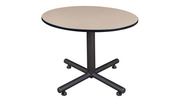 "Cafeteria Tables Regency Furniture 48"" Round Breakroom Table"
