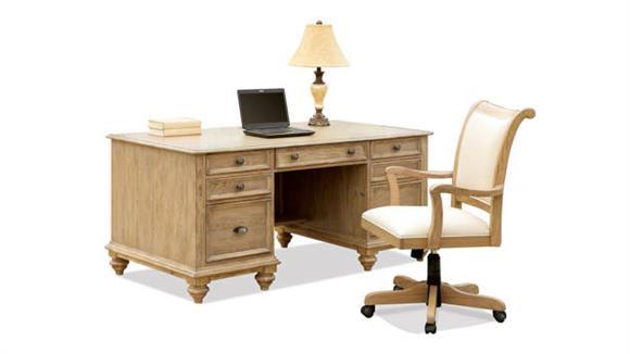 Executive Desks Riverside Executive Desk with Chair