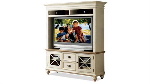 "TV Stands Riverside 58"" TV Console with Hutch"