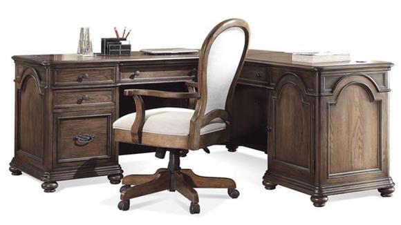 L Shaped Desks Riverside L Shaped Desk
