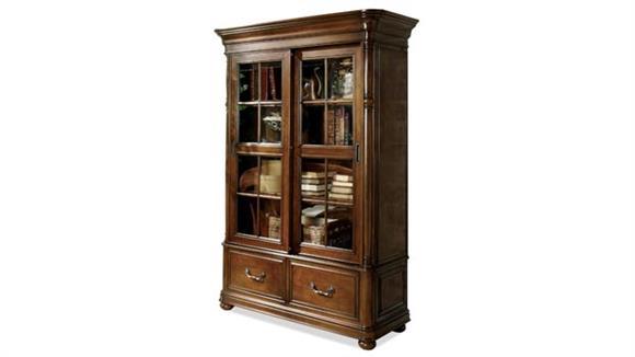 Bookcases Riverside Sliding Door Bookcase