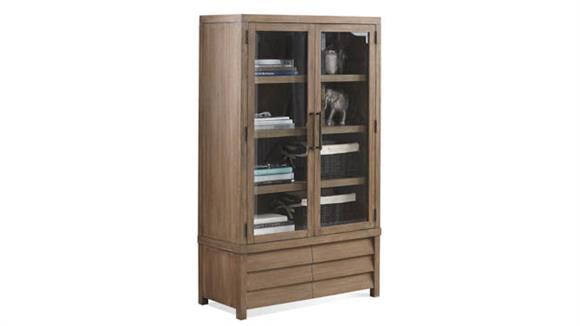 Bookcases Riverside Cabinet Bookcase