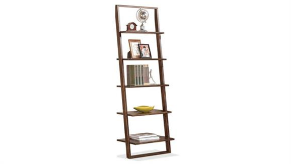 Bookcases Riverside Leaning Bookcase