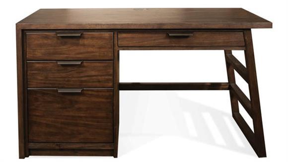 Computer Desks Riverside Single Pedestal Desk