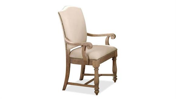 Dining Chairs Riverside Upholstered Arm Chair