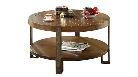 Coffee Tables Riverside Round Coffee Table