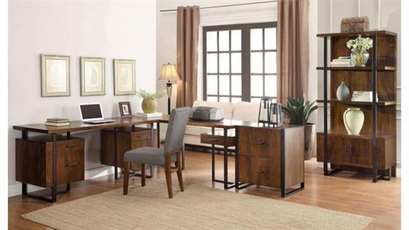 L Shaped Desks Riverside Executive Office Set