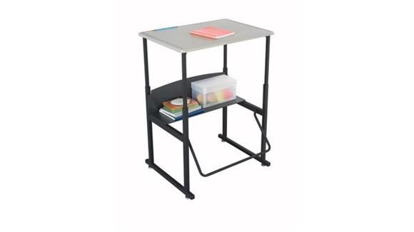 Adjustable Height Desks & Tables Safco Office Furniture Adjustable-Height Stand-Up Desk