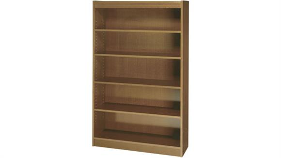 Bookcases Safco Office Furniture 72inH x 36inW Square Edge Veneer Bookcase