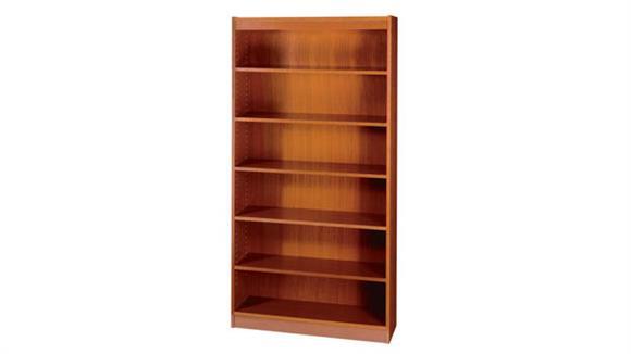 Bookcases Safco Office Furniture Square-Edge Veneer Bookcase - 6 Shelf