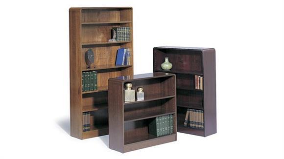 Bookcases Safco Office Furniture 36inH Radius Bookcase