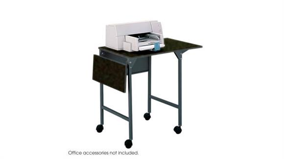 Utility Carts Safco Office Furniture Machine Stand with Drop Leaves